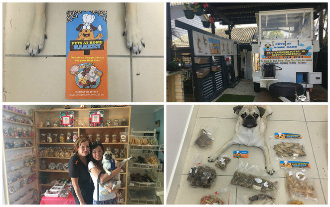 pets at home care bakery, victoria point, pet shop, pet treats, homemade, victoria point, eastern suburbs, pet shop