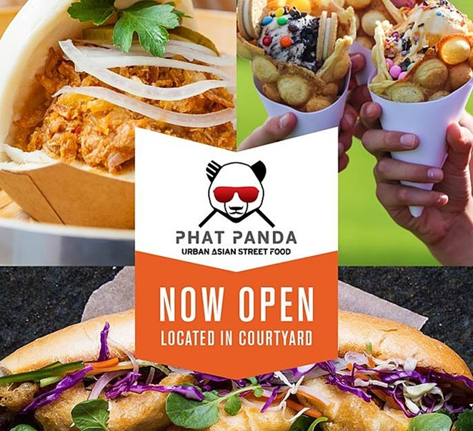 phat panda, canberra, ACT, tuggeranong, south point tuggeranong, shopping centre, courtyard, bao, curry, asian fusion, takeaway, lunch, asian takeaway