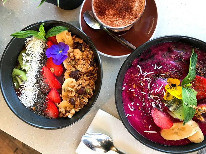 Pitaya Bowl and Acai Bowl at Linea Cafe Ramsgate