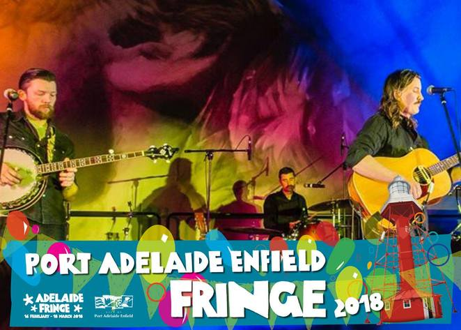 port Adelaide, fringe, artists, musos, muses, comedians, pranksters, foodies, funksters, street party