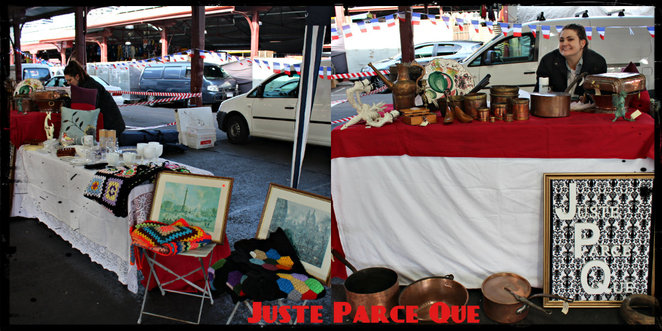 qvm brocante marche, review, vintage market, market, french, queen victoria market, c shed, gigi a la maison, frencheese, French inspired