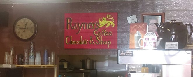 Rayner's, coffee shop, homemade chocolates