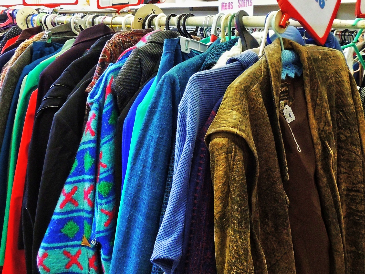 Thrift shop clothing online
