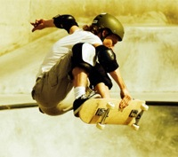 Skateboarding, clinics, competitions, Easter Holidays