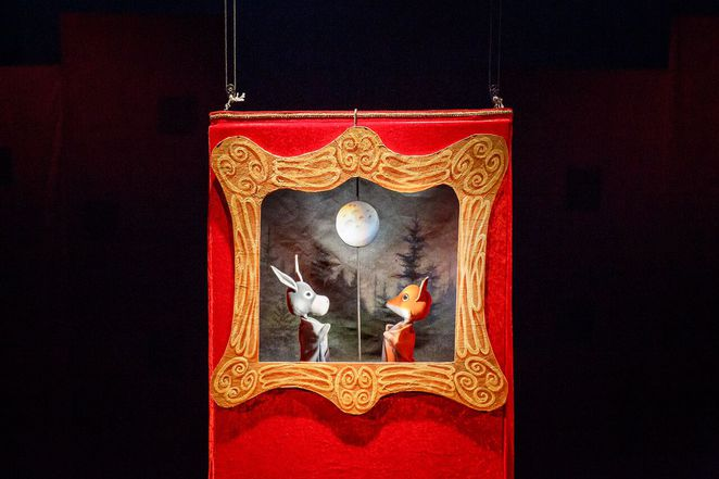 spare parts puppet theatre, puppet theatre fremantle perth, puppetry, nobody owns the moon, noriko noshimoto, puppet theatre, best kids shows