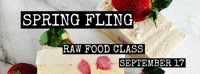Spring Fling Raw Food