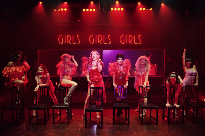 Sweet Charity, theatre Sydney, live theatre, Potts Point