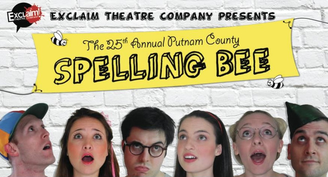 The 25th Annual Putnam County Spelling Bee Exclaim Theatre Company AIM Musical