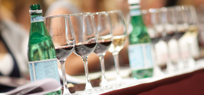 Wine tasting, Food and Wine Show