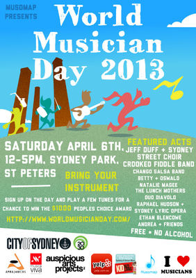 world musician day