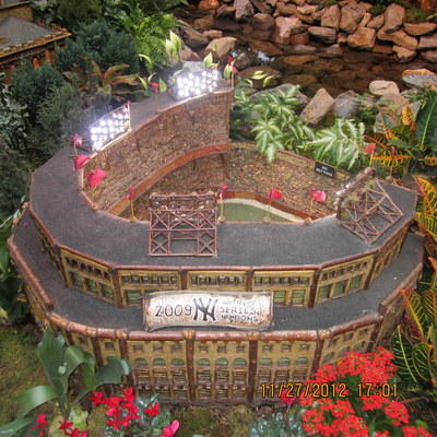 Yankee stadium, Christmas, model, holidays