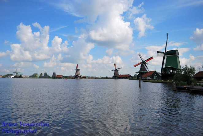zaanse schans, amsterdam, the netherlands