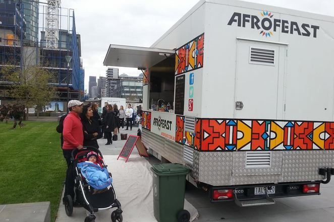 Afrofeast african food truck