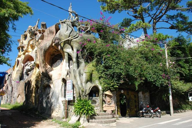 architecture, crooked house, crazy house, vietnam, bad architecture, seattle music experience, seattle, italy, thailand,