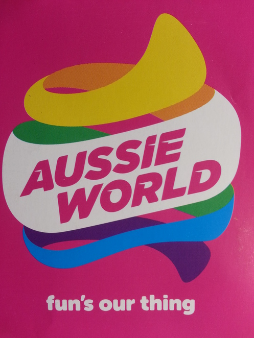Aussie World logo, Palmview, Queensland