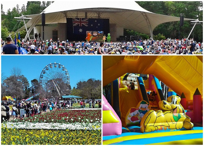 australia day, floriade, canberra, events, commonwealth park, ACT, lake burley griffin, kids, children, families, family friendly,