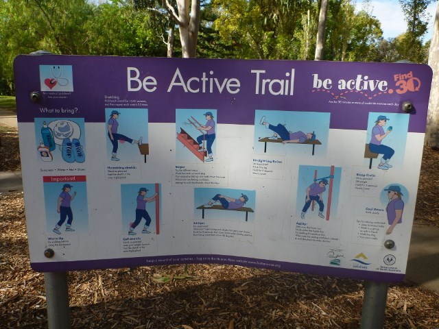 Be Active Trail, Freemont Park, Elizabeth