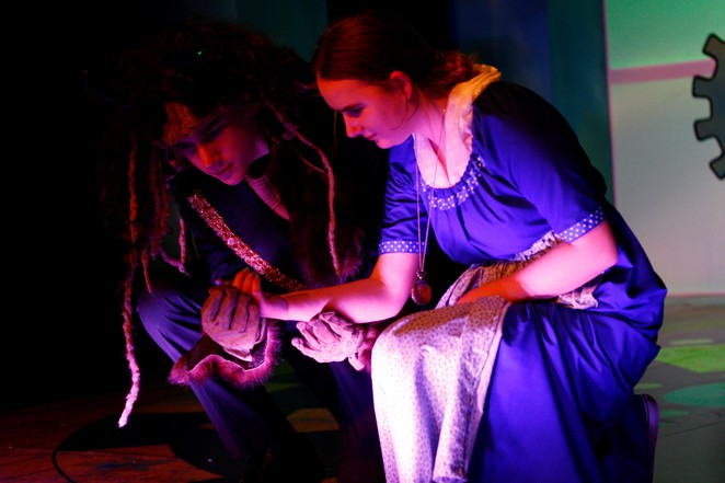 Beauty and the Beast, Marian Street Theatre for Young People, Knox Grammar School, Wendy Blaxland, Brigid O'Sullivan, community theatre, theatre for young people, drama school, school holiday activities, North Shore, Ku-Ring-gai-Council, Save Marian Street Theatre