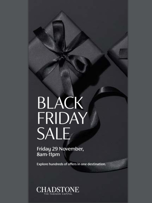 black friday sale 2019, special offers, perfect gifts, christmas shopping, shopping centre, the noir bar and lounge, espresso martinis, black friday at chadstone 2019, chadstone the fashion capital, shopping, shopping centre
