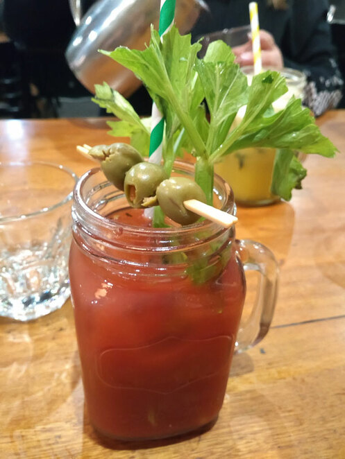 Bloody Mary at Cafe Issus