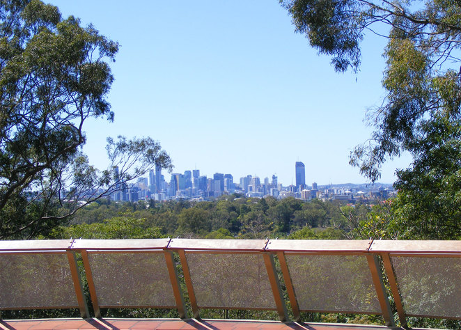 The view from the Brisbane Botanic Gardens Lookout