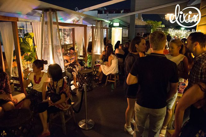 brisbane rooftop bars, best rooftop bars brisbane, elixer, elixer rooftop bar