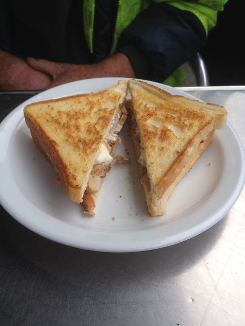 Chicken and Cheese Toastie