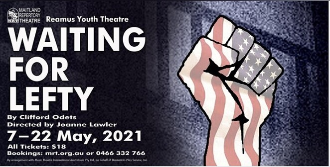 Clifford Odets, Waiting for Lefty, Reamus Youth Theatre, Great depression