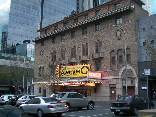 comedy theatre melbourne