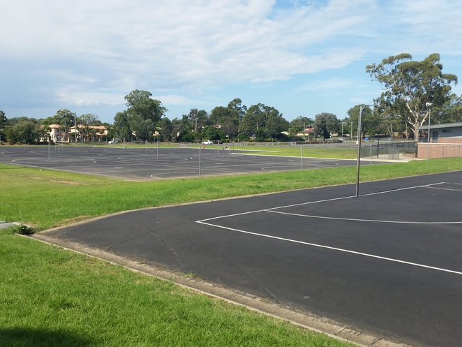 Coronation Park Netball Complex, minto, netball courts