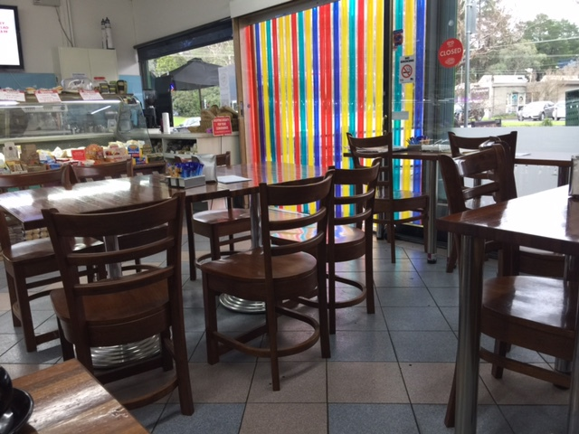 Deli, Liquor store with café, coffee, gluten free and organic products, wine tasting, in-house blended coffee, restaurant, homemade take away food, cheap coffee,