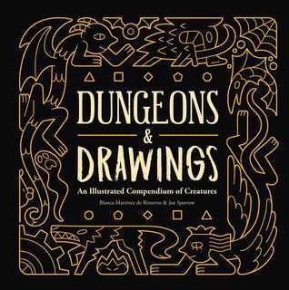 Dungeons and Drawings, Dungeons and Dragons, art, creature art, pictures of monsters, monsters, mythology, D&D, AD&D, roleplaying games, fantasy art