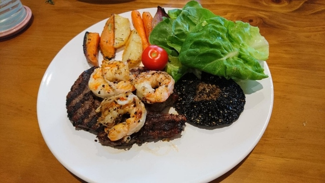 Food for Life, Homemade Surf and Turf, Adelaide