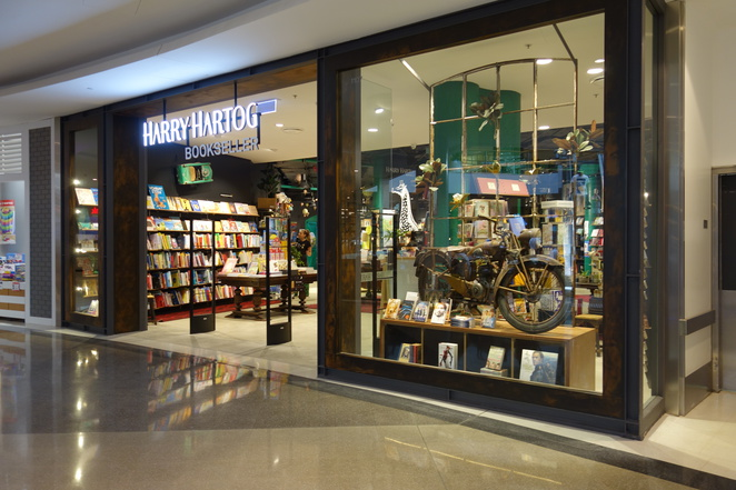 harry hartog bookseller bookshop