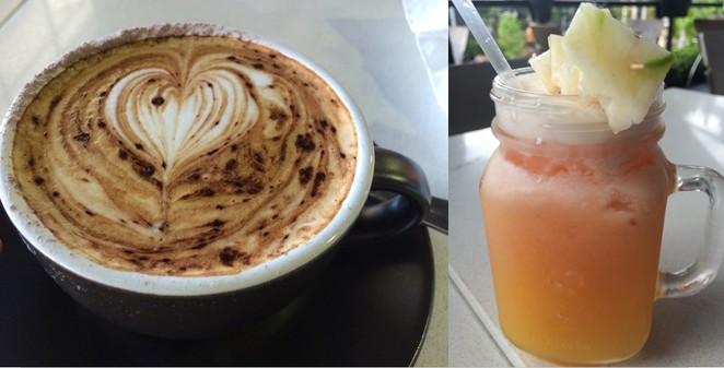 Havest Cafe Coffee and Fresh Juice