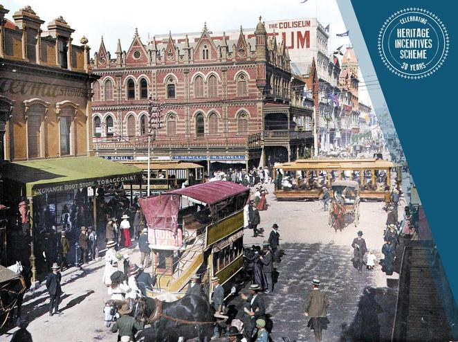 heritage, Adelaide, buildings, photography, colour, reimage, heritage incentives scheme, history