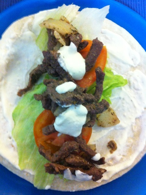 Greek Souvlaki Wraps