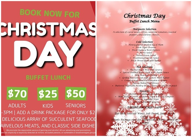 iron hores inn, cardiff, newcastle, NSW, christmas day, 2019, open, lunch, kids,