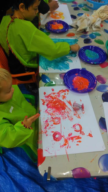 Jellybeanstreet painting workshop