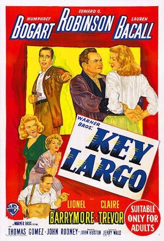 Key Largo, weather movies, Humphrey Bogart, Edward G Robinson, lauren Bacall,