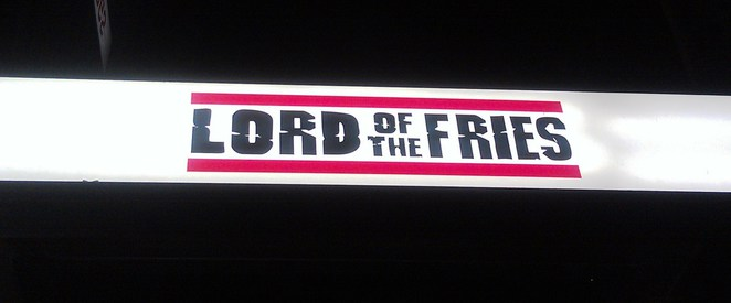 Lord of the Fries Sydney