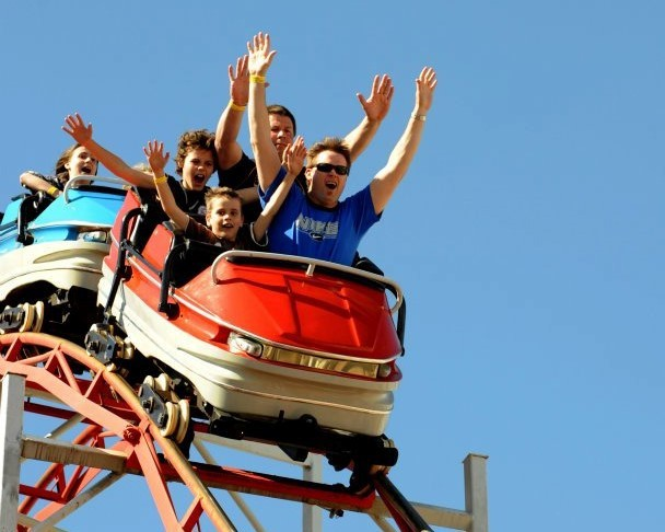 Five fun family events on fathers day melbourne luna park fathers day family fun rollercoaster father children negle Choice Image