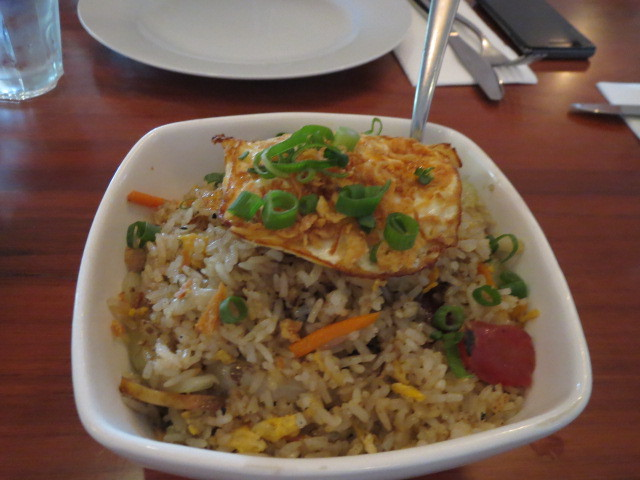 Mangosteen Restaurant, Clay Pot Fried Rice, Adelaide