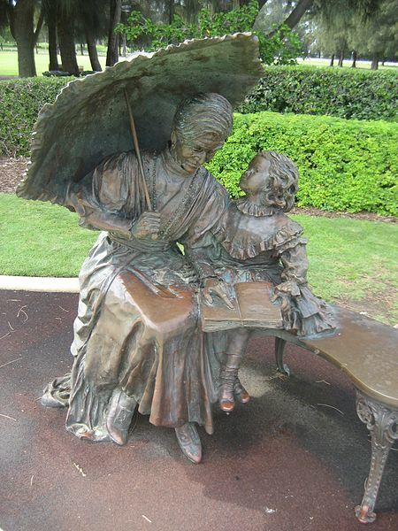 Statute of Mary Durack