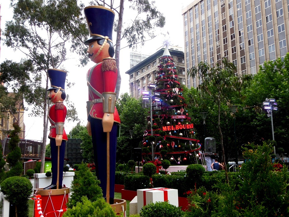 City Of Melbourne Christmas Festival 2012
