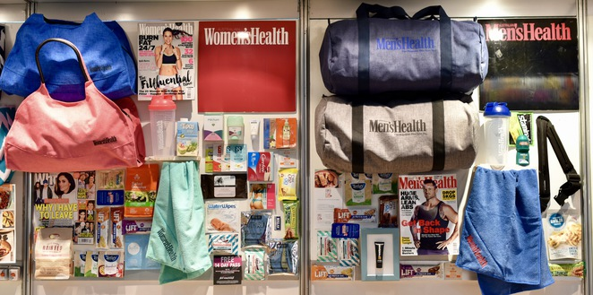 Men's Health Showbag, Women's Health Showbag, Sydney Royal Easter Show 2017, Easter, Show, Showbag, Sydney
