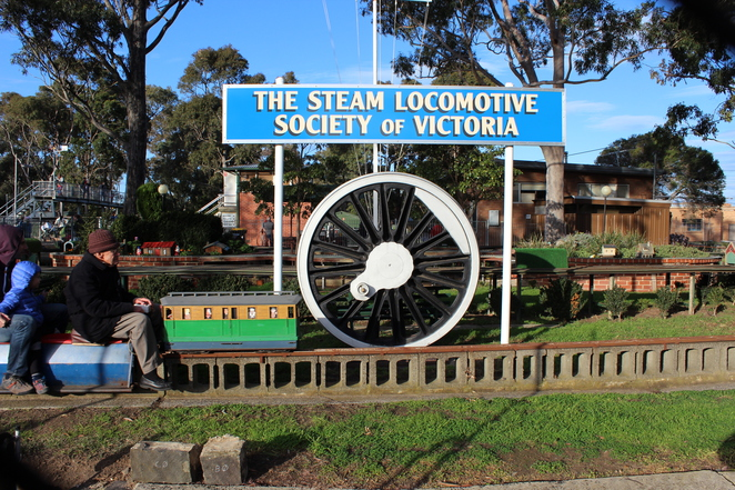 mini steam trains, moorabbin