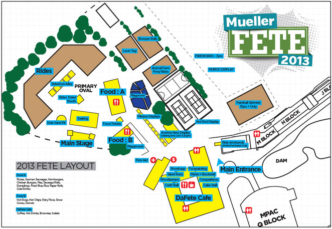 mueller college fete map