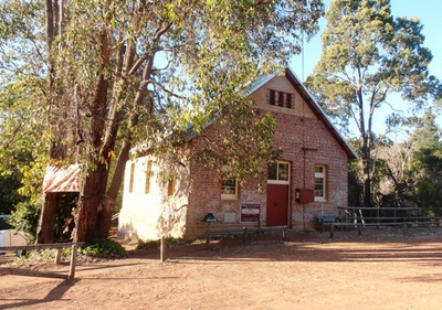 The Mundaring Weir Art Gallery.
