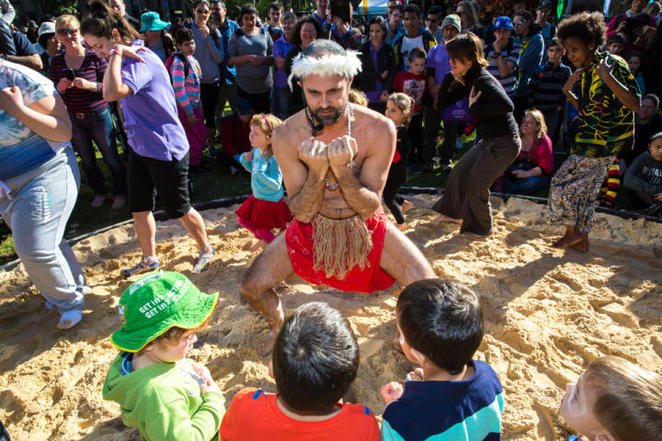 NAIDOC in the city 2017, our languages matter, indigenous culture